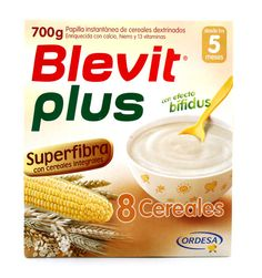 230229 Blevit Plus 8 Cereales Superfibra - 700 gr.