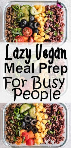 catchbifunow Vegan Meal Prep Ideas • Vegan Family Travels -  Easy vegan meal prep ideas, easy to cook and delicious to eat. Whether you are looking for meal pre - #Breakfast #BreakfastRecipes #family #HealthyBreakfasts #ideas #Meal #Prep #travels #vegan<br>