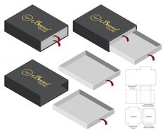 Box packaging die cut template design Premium Vector Chocolate Box Packaging, Origami Templates, Box Templates, Glitter Houses, Fabric Dolls, Rag Dolls, Cricut Cards, Toy Craft, Foam Crafts