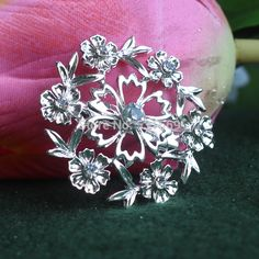 Find More Brooches Information about Free Shipping!!(12pcs/lot)High Quality Silver Tone Clear Crystal  Flower Brooches for wedding invitation  XD 732,High Quality brooch heart,China brooch leather Suppliers, Cheap brooch silver from Gem-Mart Store on Aliexpress.com