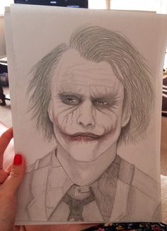 My drawing of the joker :)
