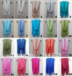 Ladies Solid Plain Color Cotton Viscose Scarf Wrap Shawl Scarves for Women, Free Shipping on Aliexpress.com