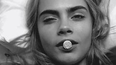 They've both been GIFed to no end on Tumblr. | 15 Reasons Cara Delevingne Is The Jennifer Lawrence Of Models