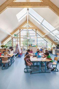 Early Childhood Centre in Wassenaar by Kraaijvanger | A-frame