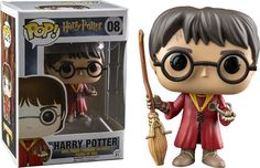 Funko Pop Harry Potter Quadribol Exclusivo Hot Topic - Golden Toys Colecionáveis
