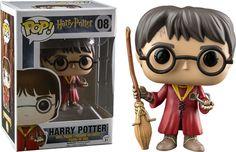 Funko Pop Harry Potter Quadribol Exclusivo Hot Topic - Golden Toys Colecionáveis