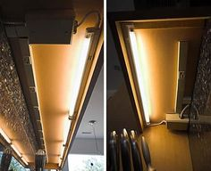The 4 Types of Under-Cabinet Lighting: Pros, Cons, and Shopping Advice — love the outlet strip