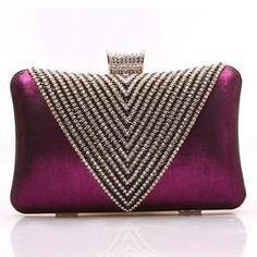 New Luxury Rhinestone Women's Small Clutch