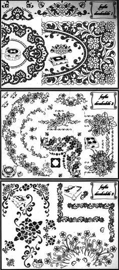 MD221 Pattern List.jpg 443×1,002 pixels