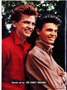 The Everly Brothers pin-up, 1959