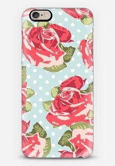 Vintage Floral and Polka Dots iPhone 5s case by Jande La'ulu | Casetify