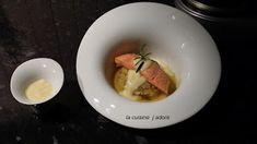 la cuisine j adore : PAVE DE SAUMON A L UNILATERAL, ENDIVES A L ORANGE,...