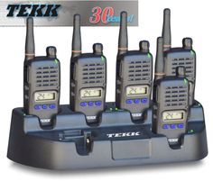 Tekk Radio 6-Gang charger for X-100u and X-100v