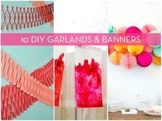 10 DIY Garlands & Banners