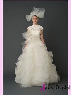 Ball Tulle Vintage Wedding Dress