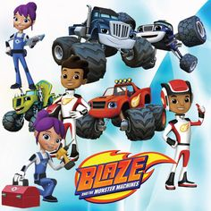 Images Of Starla From Blaze And The Monster Machines