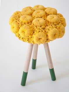 Taburete de cemento        ♪ ♪ ... #inspiration #crochet  #knit #diy GB  http://www.pinterest.com/gigibrazil/boards/