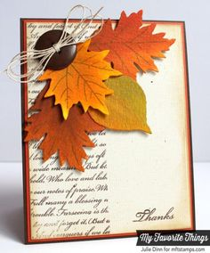Thanksgiving Cards: is one of the best ways to wish your loved ones on this auspicious day. Thanksgiving Cards are easily available in the marketplaces. Fall Cards, Holiday Cards, Christmas Cards, Diy Thanksgiving Cards, Halloween Cards, Fall Halloween, Tarjetas Diy, Giant Card, Josi