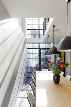 Stunning floor to ceiling #ClementWindows in one of our recent projects. #Windows #Doors #SteelWindows #SteelDoors #MetalFrame #InteriorDesigns #DreamHome