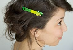 DIY Don't-Pinch-Me Barrette | Lovely Indeed