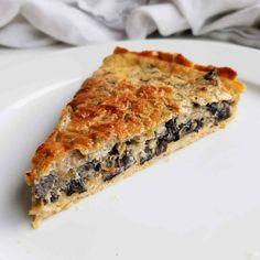 Spanakopita, Quiche, Brunch, Food And Drink, Breakfast, Ethnic Recipes, Danish, Inspiration, Kitchen