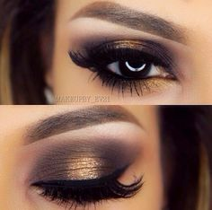 Gorgeous look from the Too Face Semi Sweet Chocolate Bar Pallette... Hot Fudge and Caramel