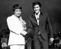 Don Ho with Elvis Presley