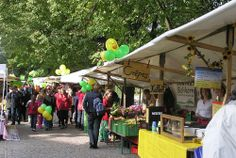 BiOriental Market, Berlin. Open a couple of times a week. Wonderful looking fruit, veg, meats and spices. Also sells fabric etc. Great place to grab some street food and eat on the grass by the canal.