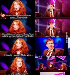 His face in the third panel... :) love Catherine and David just as much as Donna and the Doctor (which is a lot!)