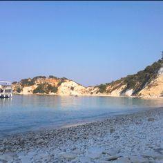 Gidaki beach, Ithaki, Greece