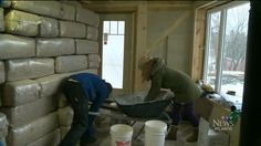 A Halifax couple has undertaken the task of building their own home and using eco-friendly materials to do it. That material is called hempcrete and is primarily made from hemp. Click on the link to learn more. http://atlantic.ctvnews.ca/halifax-couple-constructs-eco-friendly-home-1.2181609#ixzz3PHUTGUEO