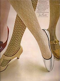Van Raalte stockings ad, 1965.