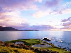 The legendary Pebble Beach Resorts, between Monterey and Carmel, CA, features four renowned Monterey golf courses and three acclaimed resorts. Pebble Beach Resort, Beach Day, Wine Country, Golf Courses, Around The Worlds, Ocean, Water, Travel, Wedding Locations