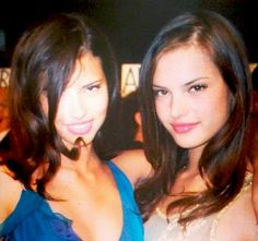 Young Angels . Adriana Lima & Alessandra Ambrosio