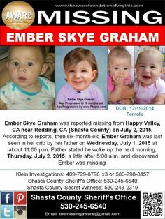 Missing Child, Missing Persons, Missing And Exploited Children, Amber Alert, Six Month, Happy Valley, Cold Case, Losing Someone, Helping Hands