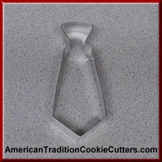 This is a 5 inch Neck Tie. It is 1 inch high. All our cookie cutters are made of tinplate steel and made in the USA. Our cookie cutters are $0.90 each.