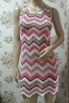 63 Best Ideas For Crochet Dress Adult Granny Squares T-shirt Au Crochet, Crochet Woman, Crochet Baby, Crochet Skirts, Crochet Clothes, Vest Pattern, Baby Knitting, Dress Skirt, Ideias Fashion