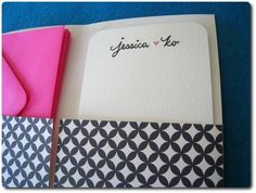personalized stationary from pinkmistindustry on etsy