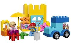 Blocks and construction elements are great toys when it comes to open ended play. By far, the most famous and familiar brand of brick toys is Lego. Lego comes with a tremendous large variety of building blocks, in different shapes, Lego Duplo, Lego Shop, Polaroid Instant Camera, Ice Cream Van, All Lego, Shops, Door Accessories, Toys R Us, Casino Theme