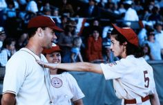 Jimmy Dugan (Tom Hanks), Doris Murphy (Rosie O'Donnell), Mae Mordabito (Maddona) ~ A League of Their Own (1992) ~ Movie Stills ~ #moviestills #leagueoftheirown #90smovies