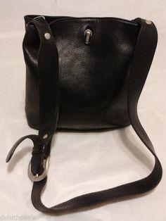 Vintage I PONTI FIRENZE ITALY leather Shoulder Bag, Bucket Bag #IPONTIFIRENZE #ShoulderBag