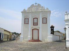 Igrega da Boa Morte in the historic centre of the city of Goiás (Goiás Velho), the capital of the state of Goiás,  Brasil
