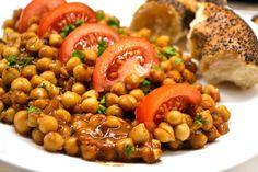 Fűszeres indiai csicseriborsó recept Clean Eating Recipes, Lunch Recipes, Meat Recipes, Vegetarian Recipes, Healthy Recipes, Healthy Food Options, Healthy Snacks, Healthy Eating, Vegan Foods