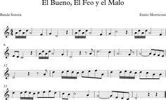 El Bueno, El Feo y el Malo. Banda Sonora de Ennio Morriconne