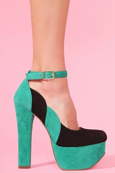 Salena Platform - Colorblock