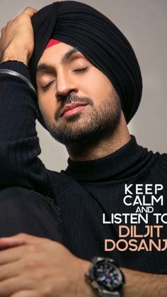keep calm and listen to diljit dosanjh