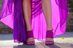 love the colors of the shoes matched perfectly with this flowing skirt!