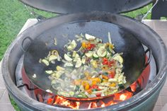 Wok on the BGE