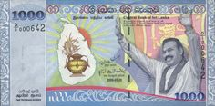 Sri Lanka Currency Information, Sri Lankan Rupee is the national currency in sri lanka. the Sri-Lanka Money notes Sri Lanka, Money Notes, One Thousand, Central Bank, Facebook, Google Search, Country, Twitter, Projects