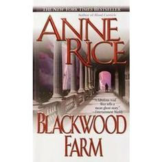 Anne Rice junkie too